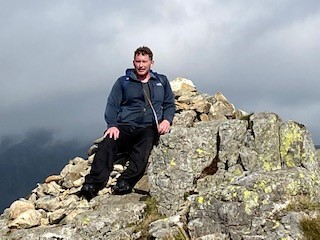 Chris completes Yewbarrow Challenge